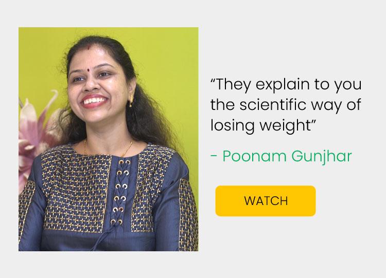Weight Loss Plan - Poonam Gunjhar Success Stories