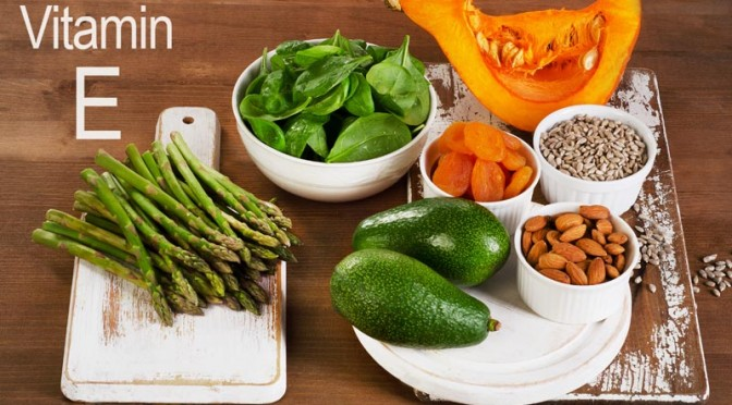 Vitamins E and Vegetables Help Lower Cholesterol