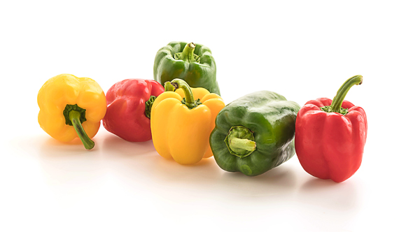 bell peppers are Vitamin C-rich foods