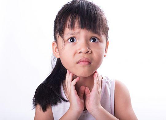 Tonsillitis-child