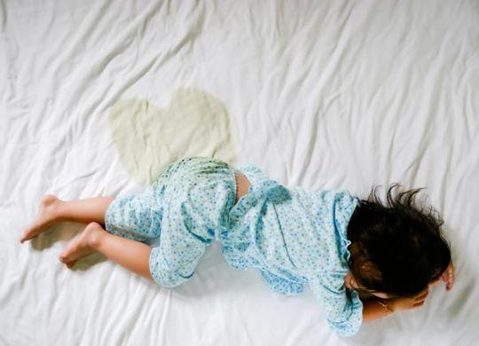children bed wetting