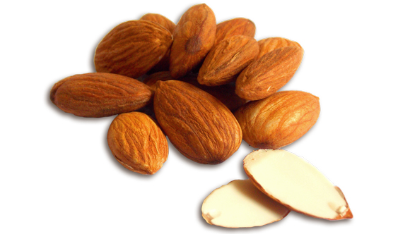 almonds helps to reduce acidity