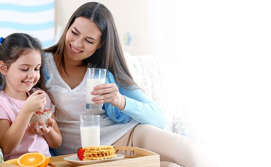 Add calcium to your child's food