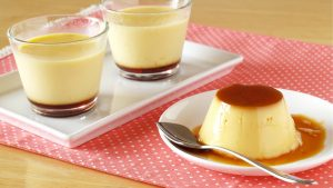 Pudding in Plate