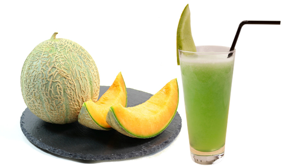 muskmelon helps to reduce acidity