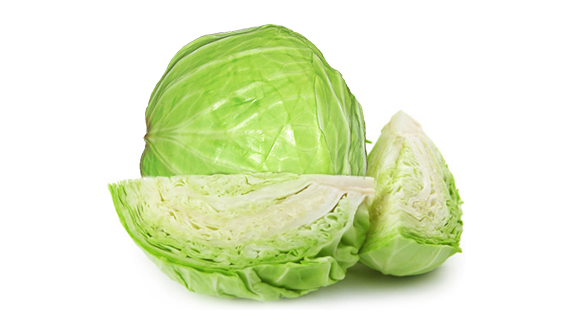 eat cabbage to reduce acidity