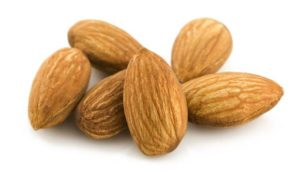 Almonds are loaded with good carbs