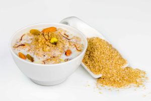 broken wheat porridge to boost your child's brain