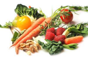 Vegetables and fruits are loaded with good carbs