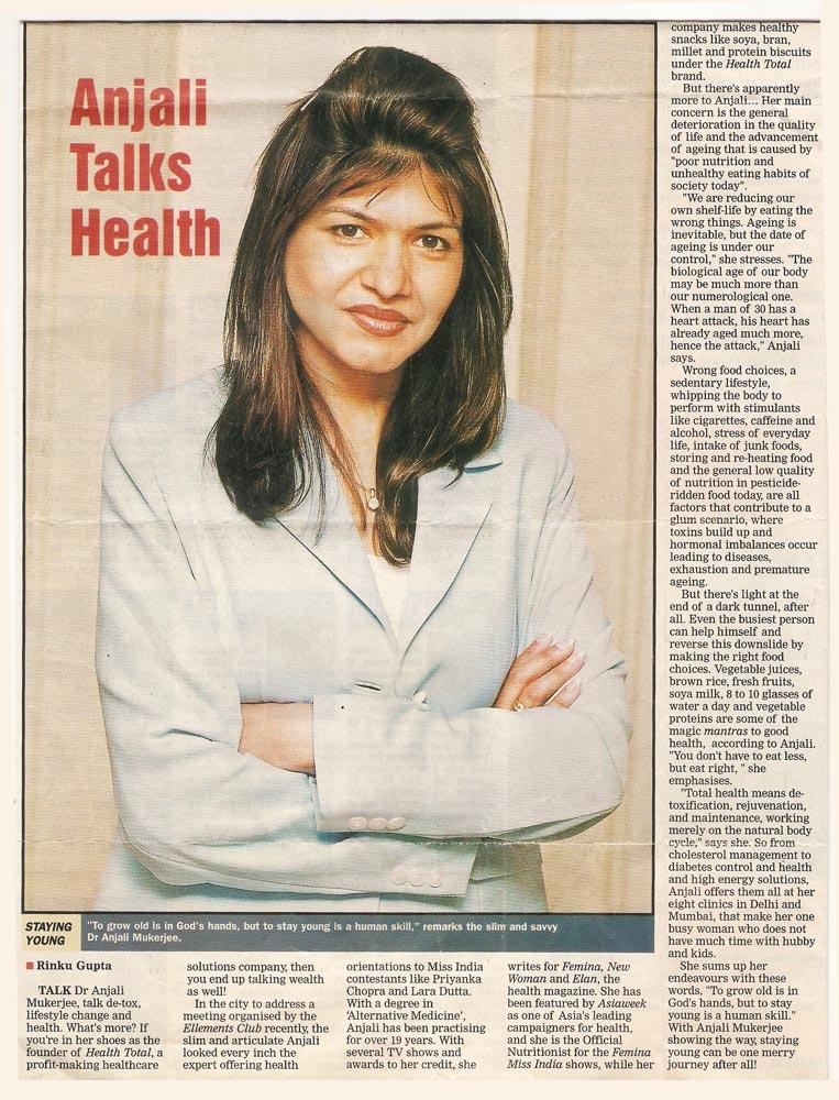 Anjali Talks Health