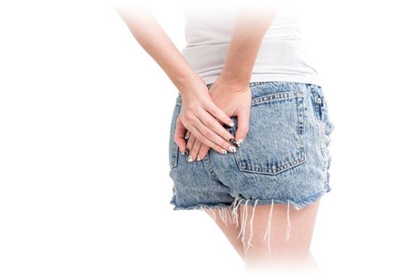 Symptoms of haemorrhoids
