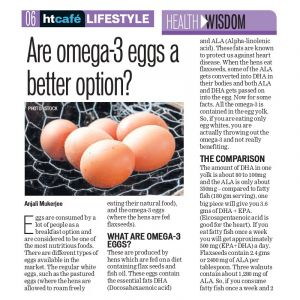 Are Omega-3 Eggs A Better Option ?