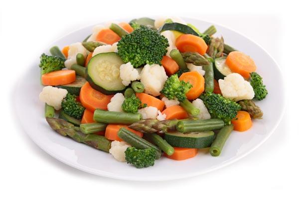Carrots broccoli cabbage