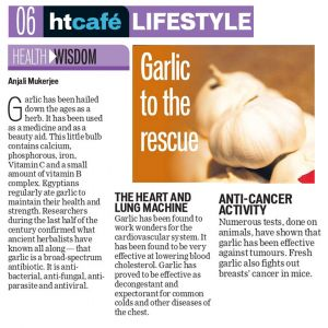 Garlic To The Rescue
