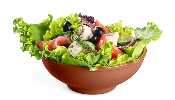 Weight Loss Diet Chart - Salad