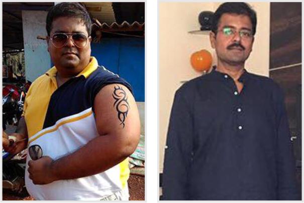 Weight Loss Plan Champion - Ajay Das Success Stories