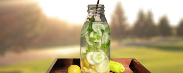 Cucumber Ginger Water to Burn Fat