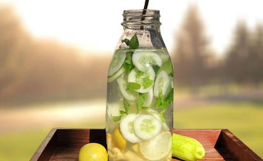 Cucumber-Ginger-Water