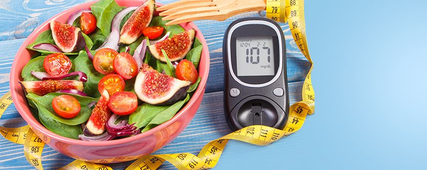 Featured-Fruit-and-vegetable-salad-glucose-meter-with-result