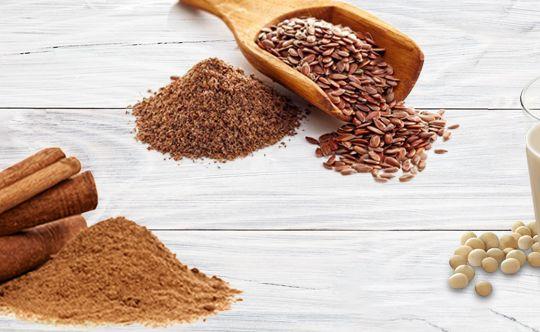 Flaxseeds-Cinnamon-Smoothie