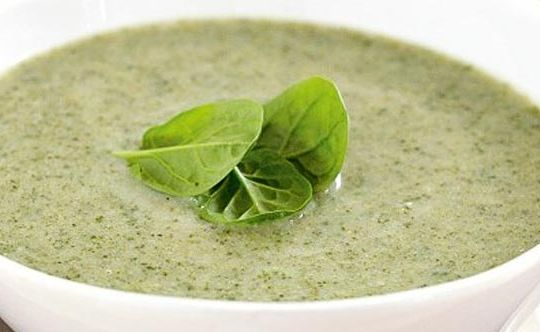 Protein-Palak-Soup