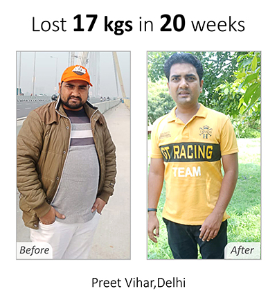 Weight Loss Plan - Rohit Rana Achievement