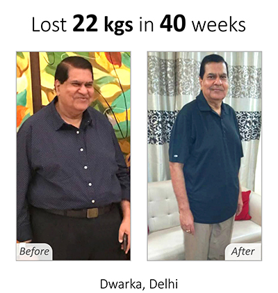 Weight Loss Plan - Vivek Mehra Achievement