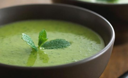 coriander-soup