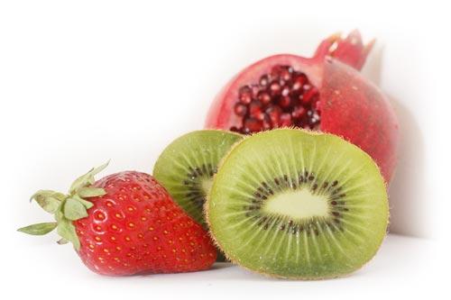 Kiwi is a good source of Vitamin C