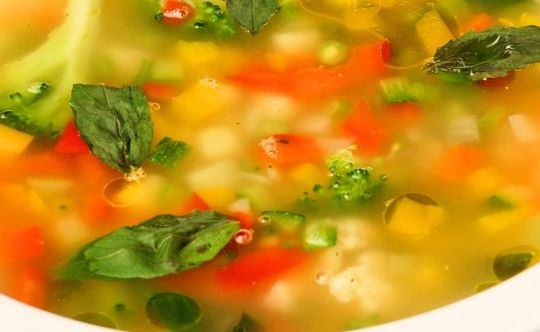 mix-veg-soup