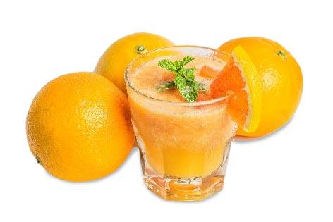 Drink orange juice to lose weight