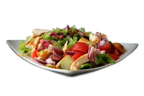Eat salad daily to lose weight