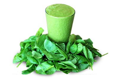 Kale juice is good for skin