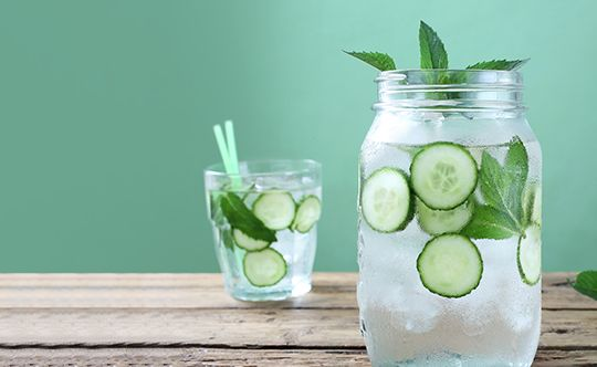 cucumber water health benefits and recipe