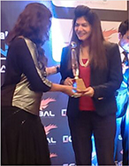 Anjali Mukerjee Received Best Women Nutritionist of the Year Award
