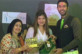 Anjali Mukerjee Received Wow Mhahsa Award For Excellence In Healing Through Diet N Nutriton