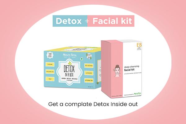 Detox + facial combo