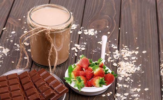 Cocoa-berry-smoothie
