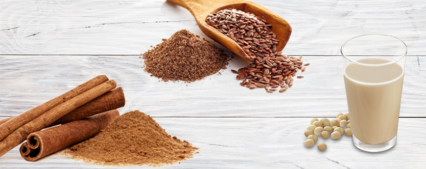 Flaxseed Cinnamon Smoothie to Lose Weight